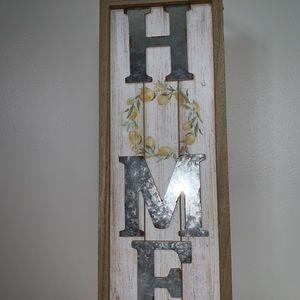 Other - Lemon farmhouse sign